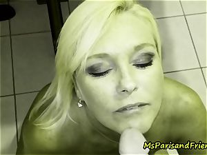 Ms Paris likes Her Creampies and Facials