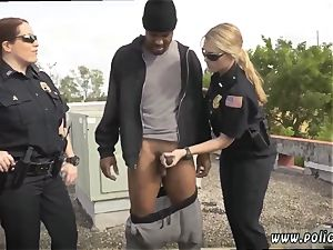 redhead very first hardcore Break-In try Suspect has to bang his way out of priduddy s son