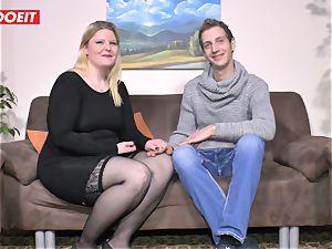 LETSDOEIT - lush girl Gets boinked rock-hard On sex tape