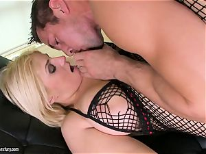 Brooklyn Bailey loves the muscled sword working rigid to erupt on her