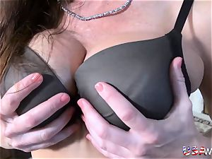 USAwives Mature woman suck off and fucktoy onanism