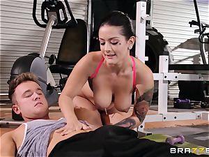 Serious fuckbox workout for Katrina Jade
