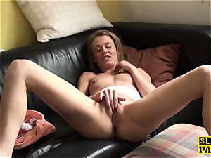 squirting victim biotch penalized for faking climax