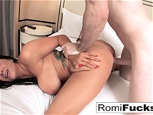 Romi Rain gets a great screw from a giant fuck-stick