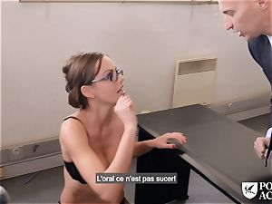 porn ACADEMIE - brit Tina Kay scorching rectal in 3 way