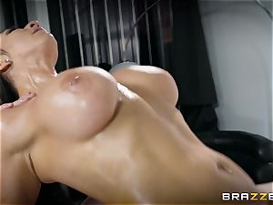 Raven Hart leaned over and penetrated