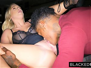 BLACKEDRAW boyfriend with cuckold wish shares his towheaded gf
