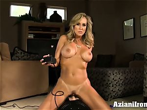 Brandi enjoy rails the sybian nude