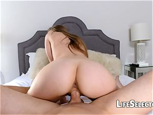 Your huge-titted and curvy step sis Lena Paul
