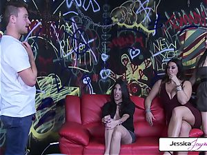 Jessica Jaymes Dava Foxx Alison Tyler plow The Painter