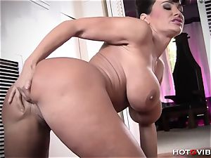 huge-titted milf Makes The Sexiest yells