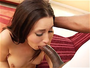 Kimberly Kane wraps her lips obese this ample manstick