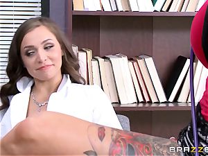 Tiffany star seduced by tattooed physician Anna Bell Peaks
