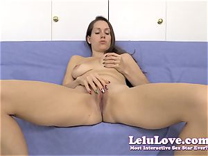 opening up my muff for you during a jerkoff