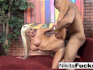 Nikita gets some interracial lovinТ
