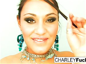 Charley pursue strips off her fabulous outfit and spreads