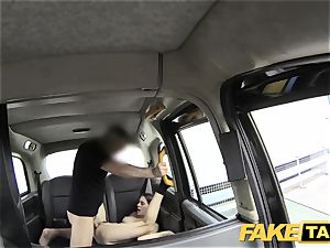 fake cab innocent yankee woman gets rump plumbed