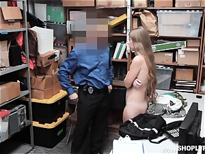 Alyce Anderson caught torn up and creamed on