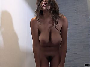 meaty breasted stepsis Ella can't leave her brother's boner alone