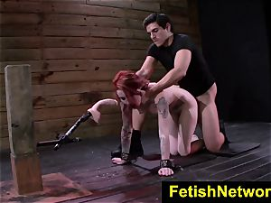 FetishNetwork Sheena Rose restrain bondage cockslut