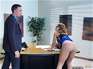 Britney Amber getting banged in her booty and cooter