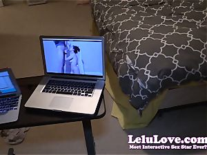 sucking YOUR trouser snake on webcam while jerking til...