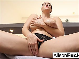 Stacked for days Alison Tyler helps the viewer jizz