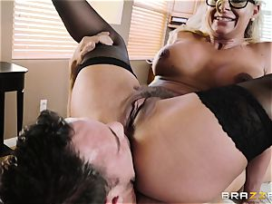 Johnny Castle humping magnificent ash-blonde Phoenix Marie
