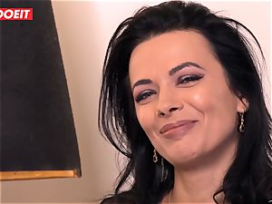 LETSDOEIT - Romanian bombshell Creamed By a French dick