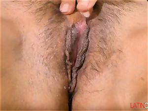 LatinChili Mashup of two torrid Mature Solo fingerblasting