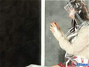 wondrous Melissa dark-hued gets freaky with fuckbox at the gloryhole