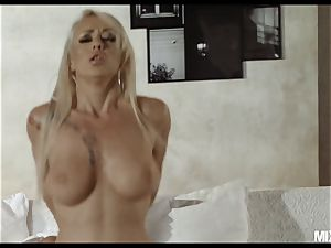 Christina needs more big black cock in her taut wett cooter NOW!