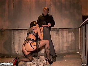 Romi Rain - outstanding steaming fledgling porno in the street