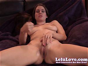 Lelu Love-Virtual slurp cum On cooch