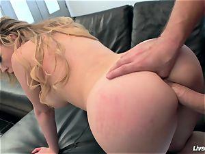 LiveGonzo Kagney Linn Karter super-sexy honey Getting drilled