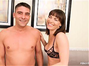 Alison Tyler steamy 3 way with Dana