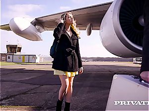 Private.com humping on a plane