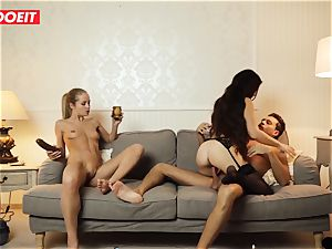 LETSDOEIT - crazy wife Gets ravaged gonzo By Swingers