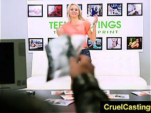 beautiful Marsha May wants to get her restrain bondage on