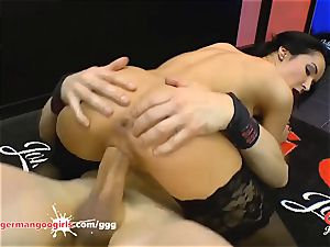 Francys Belle queen of assfuck gang-bang - German Goo chicks