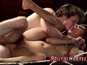 Leather stretch pants bondage scanty tiny Jade Jantzen, she just dreamed to have a fun vacation