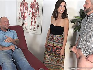 Jade Nile Has Her husband fellate trunk and see Her