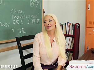 blondie teacher Summer Brielle screw in classroom