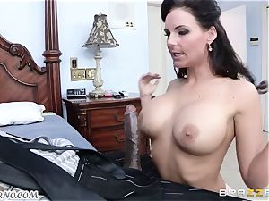 Phoenix Marie is well-prepped to take a massive dark-hued stiffy in her gash