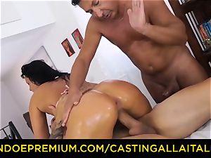 casting ALLA ITALIANA - daring minx experiences utter dp