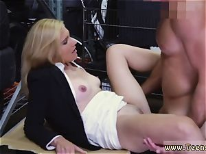 blonde mummy dual foray super-hot cougar ravaged At The PawnSHop