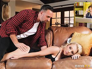 Alix Lynx buttfuck screwed by dangled Keiran Lee