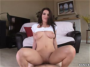 Lana Rhoades plumbed by a massive penis